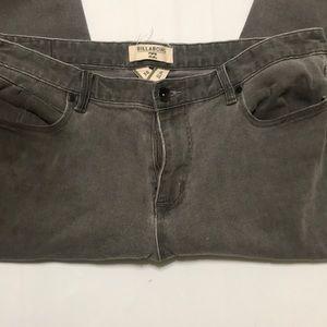 A pair of billabong men's jeans